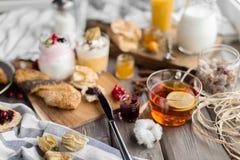лето завтрака свежее Стоковые Изображения RF