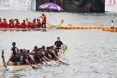 лето масленицы шлюпки дракона Гонконга Стоковое Изображение RF