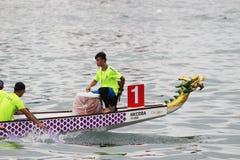 лето масленицы шлюпки дракона Гонконга Стоковые Фото