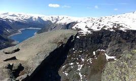 лето Норвегии стоковое фото