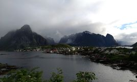 лето Норвегии Стоковое фото RF