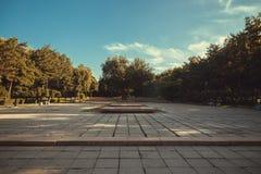 лето парка Стоковые Фотографии RF