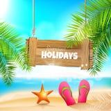 лето праздников семьи счастливое ваше Стоковое Фото