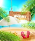 лето праздников семьи счастливое ваше Стоковая Фотография RF