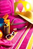 лето праздников семьи счастливое ваше Стоковые Изображения RF