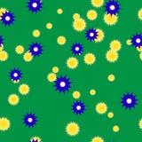 лето предпосылки зеленое Стоковое Изображение