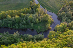 лето пригородов moscow дня солнечное Стоковая Фотография RF