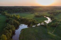 лето пригородов moscow дня солнечное Стоковые Фото