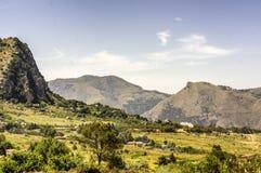 лето серии природы гор Стоковое Изображение RF