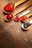 лето ягод свежее Стоковая Фотография