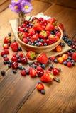 лето ягод свежее Стоковая Фотография RF
