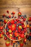 лето ягод свежее Стоковые Изображения RF