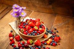 лето ягод свежее Стоковые Фото