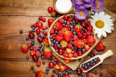 лето ягод свежее Стоковое Фото