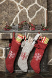 леты чулков украшения рождества новые Стоковые Изображения