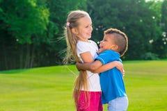2 дет играют Стоковые Изображения