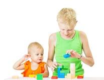 2 дет играя совместно Стоковая Фотография RF