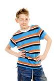 10 лет мальчика Стоковая Фотография