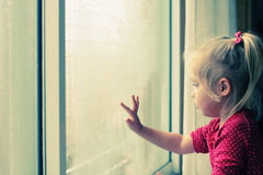 4 лет милых девушки старых Стоковая Фотография RF
