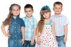 4 дет моды Стоковое Фото