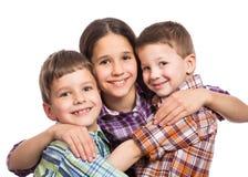3 дет совместно Стоковое Изображение