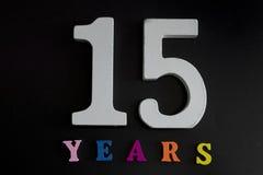 15 лет Стоковое фото RF