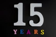 15 лет Стоковое Изображение