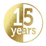 15 лет Стоковое Фото