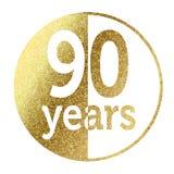 90 лет Стоковое фото RF