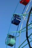 Ехать колесо Ferris Стоковая Фотография