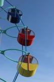Ехать колесо Ferris Стоковое Изображение RF