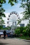 Ехать колесо Ferris Стоковое Изображение