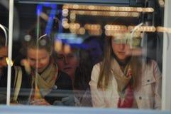 Ехать метро Стоковая Фотография RF