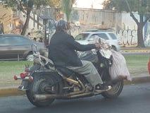 ехать мечта Oldman Стоковая Фотография