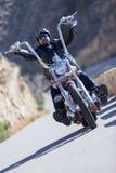 Ехать мотоцилк тяпки Стоковое Изображение RF