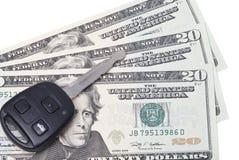 ехать на автомобиле цены Стоковая Фотография RF