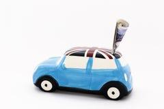 Ехать на автомобиле цены Стоковое Фото