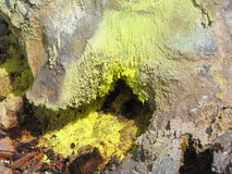 деятельность вулканическая Стоковое Изображение RF