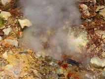 деятельность вулканическая Стоковое Изображение