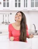 деятельность женщины дела домашняя стоковое фото