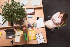 деятельность женщины офиса дела Стоковые Фото