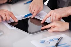 деятельность офиса предпринимателей Стоковая Фотография