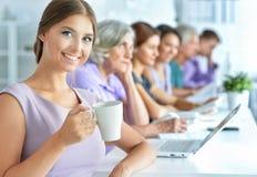 деятельность офиса предпринимателей стоковое фото