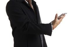 деятельность таблетки человека дела цифровая Стоковая Фотография RF
