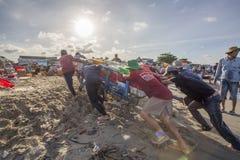 деятельность человека пляжа стоковые фото