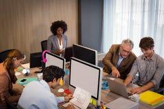 деятельность людей офиса дела Стоковые Изображения RF