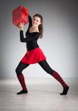 делать гимнастику девушки Стоковая Фотография RF