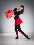 делать гимнастику девушки Стоковые Фото