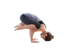 делать handstand девушки Стоковое Фото