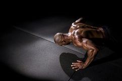 делать pushup человека Стоковые Фото